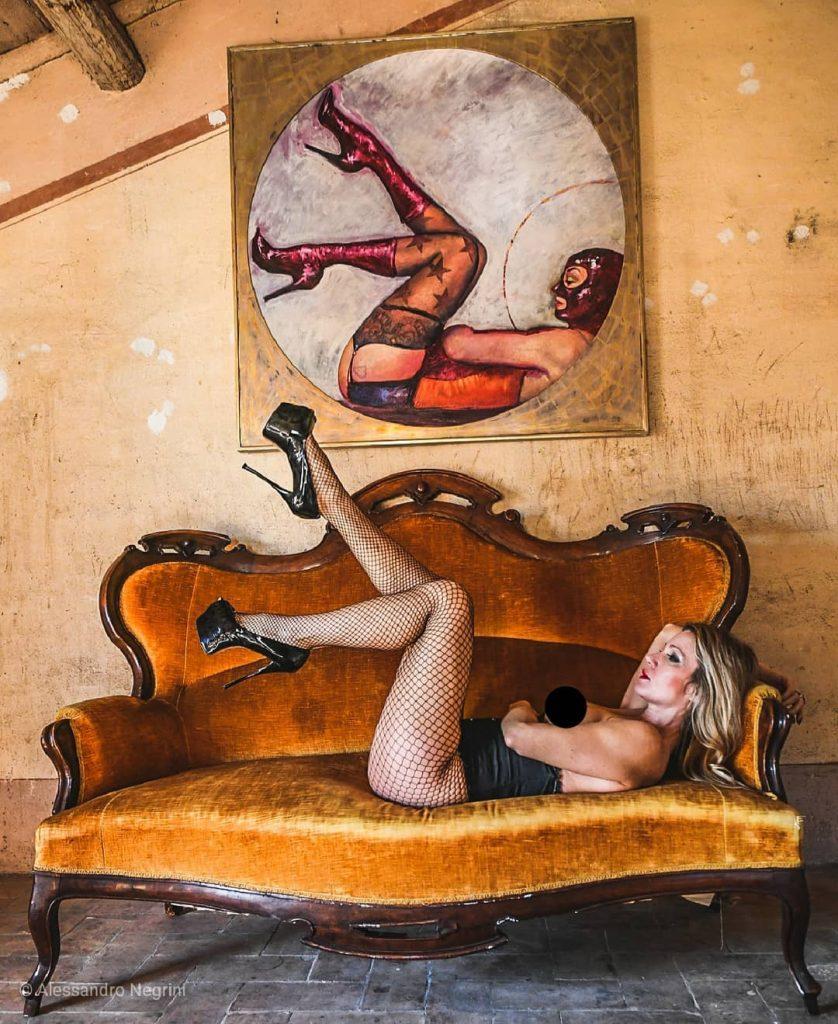 Tableaux Vivants! with @agathadevil Location and Project by a Special Friends #tableauxvivants #mask #stiletto #stilettoheels #shoes #shoesaddict #stockingsfetish #stockings #stockingfetish #stocking #stockingsgirl