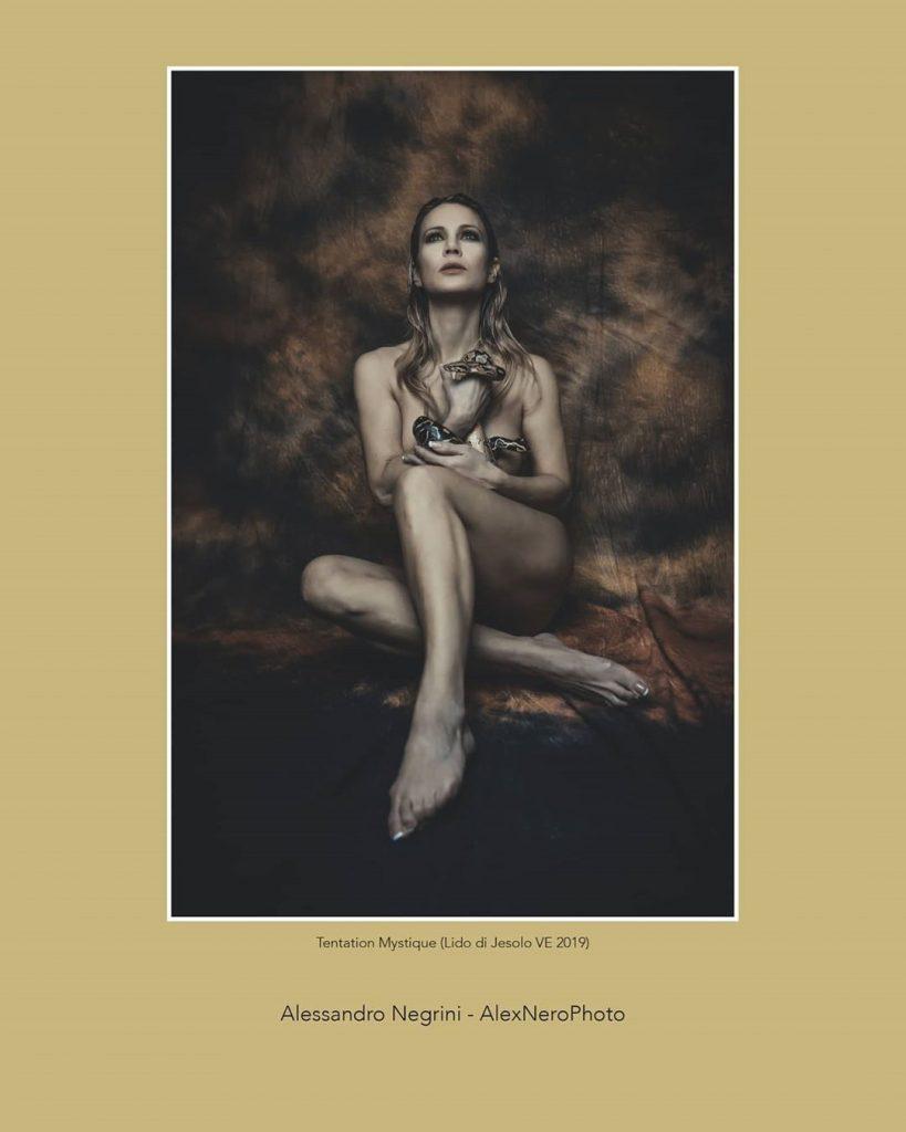 """Tentation Mystique"" with @agathadevil Issue N.561 ARTE (maggio 2020)"
